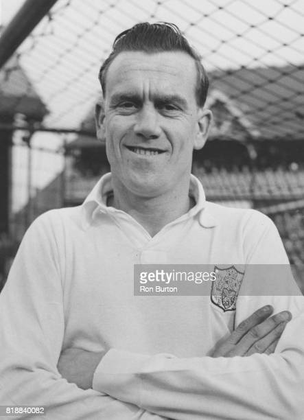 Jim Langley the leftback of Fulham FC UK 14th March 1958 Photo by /Ron Burton/KeystoneGetty Images