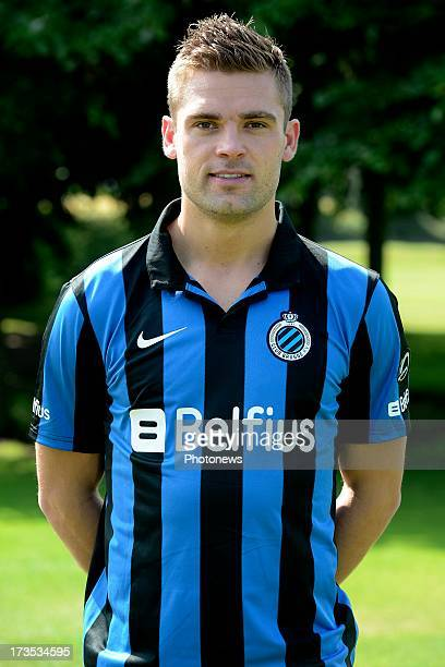Jim Larsen of Club Brugge KV pictured during a training session of Club Brugge on day 6 of the training camp on July 13 2013 in Barnsley The United...