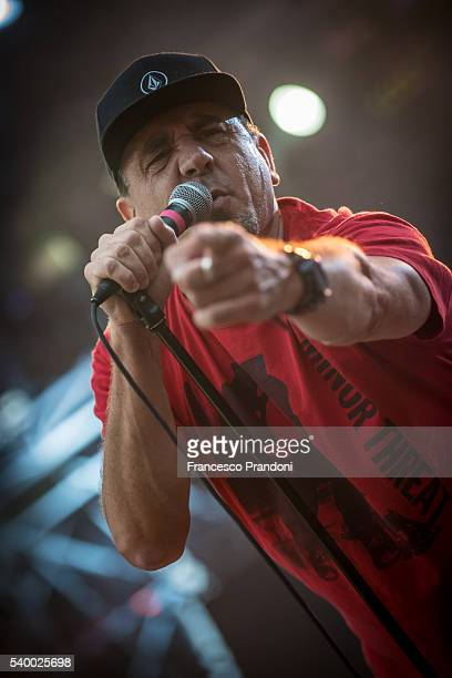 Jim Lindberg of Pennywise at Punk Rock Summer Nationals on June 13 2016 in Milan Italy