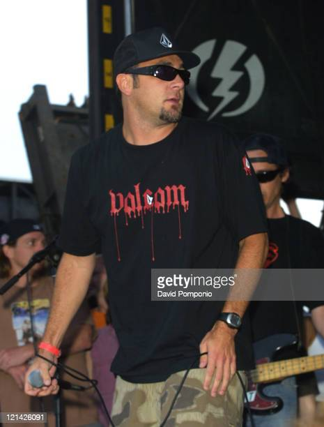 Jim Lindberg of Pennywise during 2003 Vans Warped Tour Asbury Park at Asbury Park Lot in Asbury Park New Jersey United States