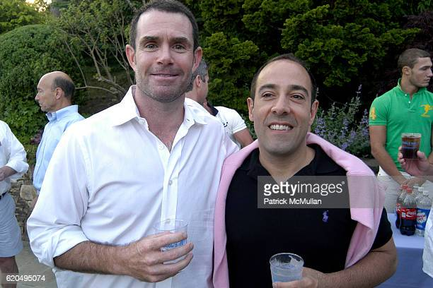 Jim Mack and Mike Darminio attend School's Out 2008 benefiting The HetrickMartin Institute home of the Harvey Milk High School at East Hampton on...