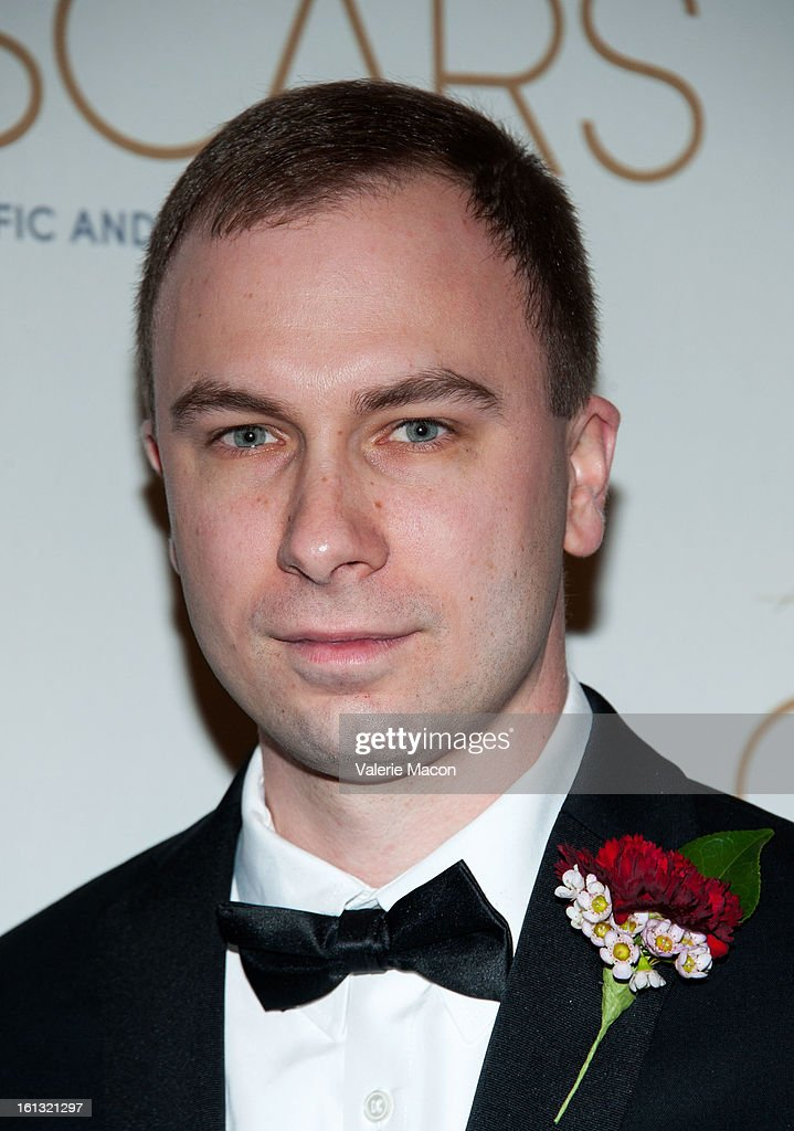Jim Markland arrives at the Academy Of Motion Picture Arts And Sciences' Scientific & Technical Awards at Beverly Hills Hotel on February 9, 2013 in Beverly Hills, California.