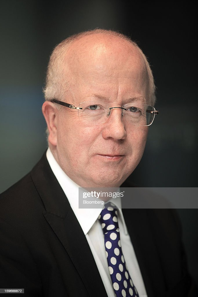 Jim McCaughan, chief executive officer of Principal Global Investors, poses for a photograph following a Bloomberg Television interview in London, U.K., on Friday, Jan. 18, 2013. Principal Global Investors manages $276.2 billion in assets primarily for retirement plans and other institutional clients. Photographer: Simon Dawson/Bloomberg via Getty Images