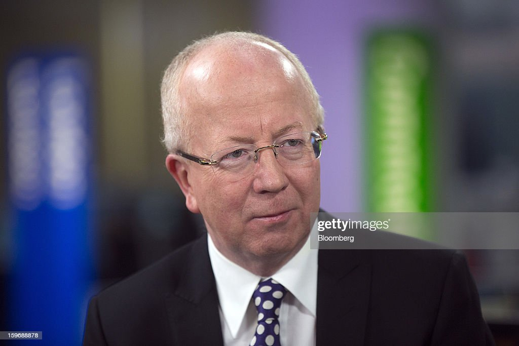 Jim McCaughan, chief executive officer of Principal Global Investors, pauses during a Bloomberg Television interview in London, U.K., on Friday, Jan. 18, 2013. Principal Global Investors manages $276.2 billion in assets primarily for retirement plans and other institutional clients. Photographer: Simon Dawson/Bloomberg via Getty Images