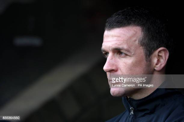 Jim McIntyre Dunfermline Athletic manager