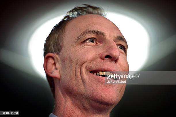 Jim Murphy is announced as the new leader of the Scottish Labour Party on December 13 2014 in Glasgow Scotland The former Scottish Secretary Jim...