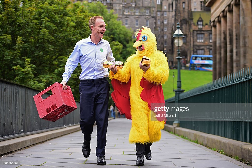 Jim Murphy, Shadow Secretary of State for International Development arrives at a Better Together event at the Mound on September 2, 2014 in Edinburgh,Scotland. Mr Murphy postponed his 100 towns 100 days tour, following being hit by eggs last Friday, claiming that the Yes campaign had organised mobs to intimidate not only him but the undecided voters.