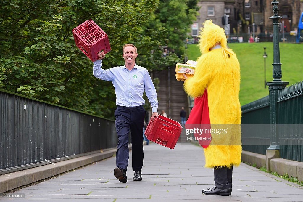<a gi-track='captionPersonalityLinkClicked' href=/galleries/search?phrase=Jim+Murphy+-+Politician&family=editorial&specificpeople=13566433 ng-click='$event.stopPropagation()'>Jim Murphy</a>, Shadow Secretary of State for International Development arrives at a Better Together event at the Mound on September 2, 2014 in Edinburgh,Scotland. Mr Murphy postponed his 100 towns 100 days tour, following being hit by eggs last Friday, claiming that the Yes campaign had organised mobs to intimidate not only him but the undecided voters.