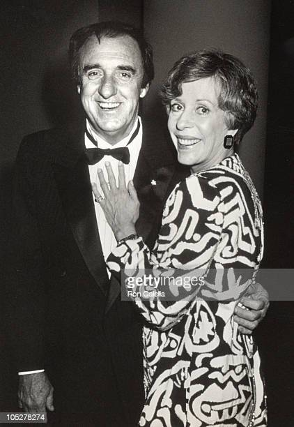 Jim Nabors and Carol Burnett during Parsons School of Design Annual Fashion Critics Show and Dinner April 18 1989 at Marriot Marquis Hotel in New...