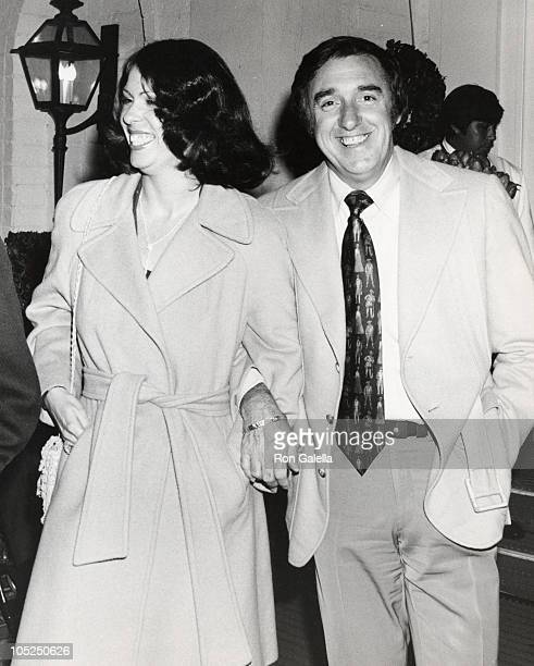 Jim Nabors and Christine Burnett during Jim Nabors Sighting March 17 1974 at Chasen's Restaurant in Los Angeles California United States
