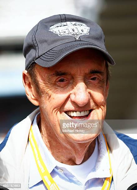 Jim Nabors attends the 2014 Indy 500 at Indianapolis Motorspeedway on May 25 2014 in Indianapolis Indiana