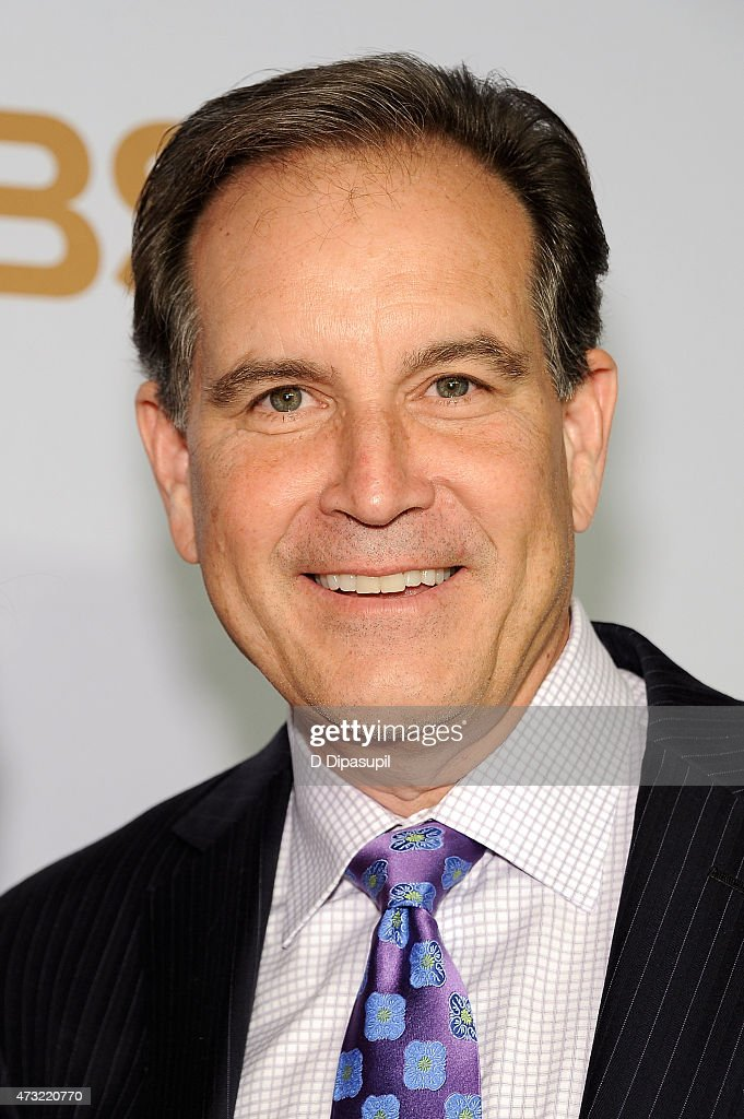 <a gi-track='captionPersonalityLinkClicked' href=/galleries/search?phrase=Jim+Nantz&family=editorial&specificpeople=700519 ng-click='$event.stopPropagation()'>Jim Nantz</a> attends the 2015 CBS Upfront at The Tent at Lincoln Center on May 13, 2015 in New York City.