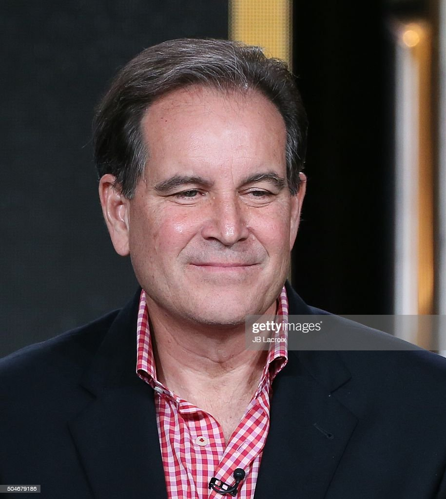 <a gi-track='captionPersonalityLinkClicked' href=/galleries/search?phrase=Jim+Nantz&family=editorial&specificpeople=700519 ng-click='$event.stopPropagation()'>Jim Nantz</a> speaks onstage during the 'CBS Sports' panel discussion at the CBS/ShowtimeTelevision Group portion of the 2015 Winter TCA Tour at the Langham Huntington Hotel on January 12, 2016 in Pasadena, California.