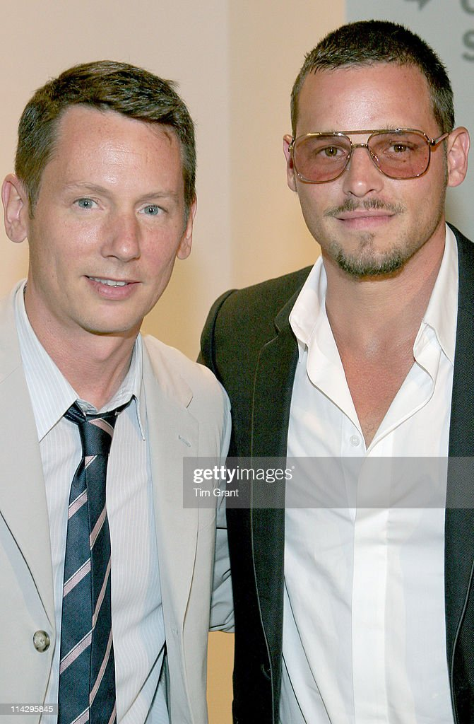 Jim Nelson and Justin Chambers during GQ Celebrates The 2006 CFDA Fashion Awards Menswear Nominees June 1 2006 in New York City New York United States