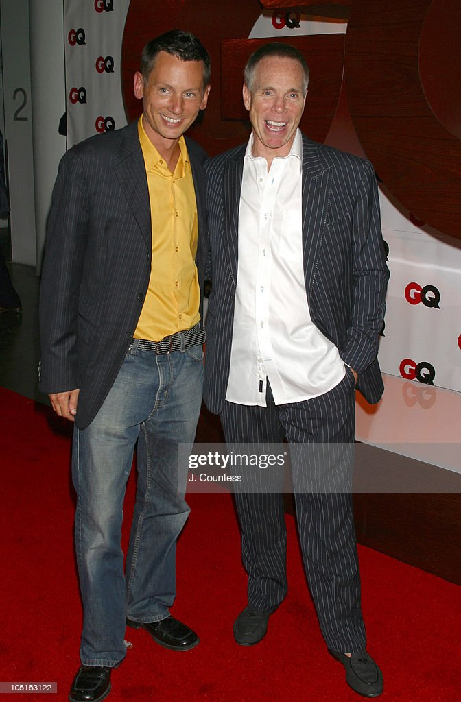 Jim Nelson and Tommy Hilfiger during GQ Celebrates September Debut Issue Under New Editor and Chief Jim Nelson at Hudson Studios in New York New York...