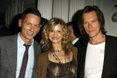 Jim Nelson Editor in Chief of GQ Kyra Sedgwick and Kevin Bacon