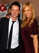 Jim Nelson editor in chief of GQ Magazine and Jessica Alba
