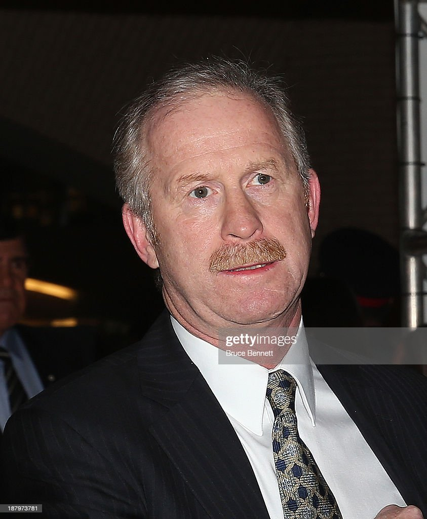 Jim Nill walks the red carpet prior to the 2013 Hockey Hall of Fame induction ceremony on November 11, 2013 in Toronto, Canada.