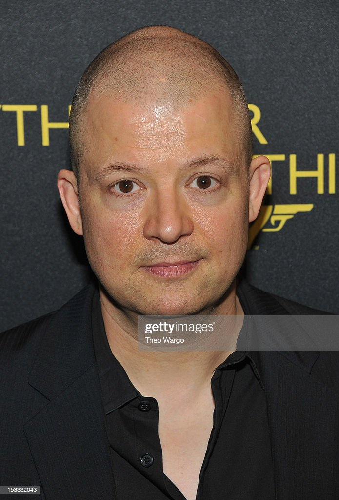 Jim Norton attends EPIX Presents the Premiere screening of 'Everything or Nothing: The Untold Story of 007' at MOMA on October 3, 2012 in New York City.
