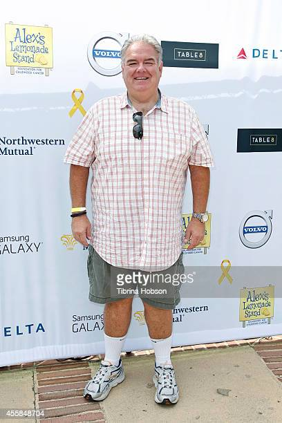 Jim O'Heir attends the 5th annual 'LA Loves Alex's Lemonade' annual fundraiser at Wilson Plaza UCLA on September 20 2014 in Westwood California