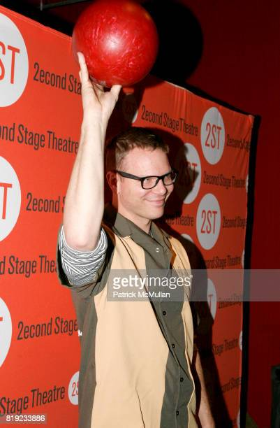 Jim Parrack attend Second Stage Theatre's 23rd Annual AllStar Bowling Classic at Lucky Strike Lanes Lounge on February 8th 2010 in New York City