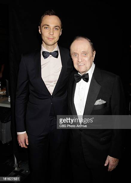 Jim Parsons and Bob Newhart at the 65th Primetime Emmy Awards  which will be broadcast live across the country 8001100 PM ET/ 500800 PM PT from...
