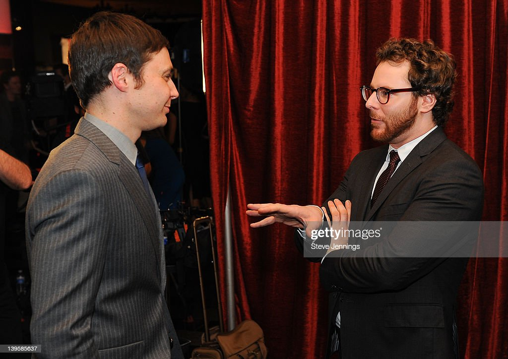 <a gi-track='captionPersonalityLinkClicked' href=/galleries/search?phrase=Jim+Parsons&family=editorial&specificpeople=2480791 ng-click='$event.stopPropagation()'>Jim Parsons</a> and Sean Parker (L-R) attend the 3rd Annual TechFellow Awards at SF MOMA on February 22, 2012 in San Francisco, California.