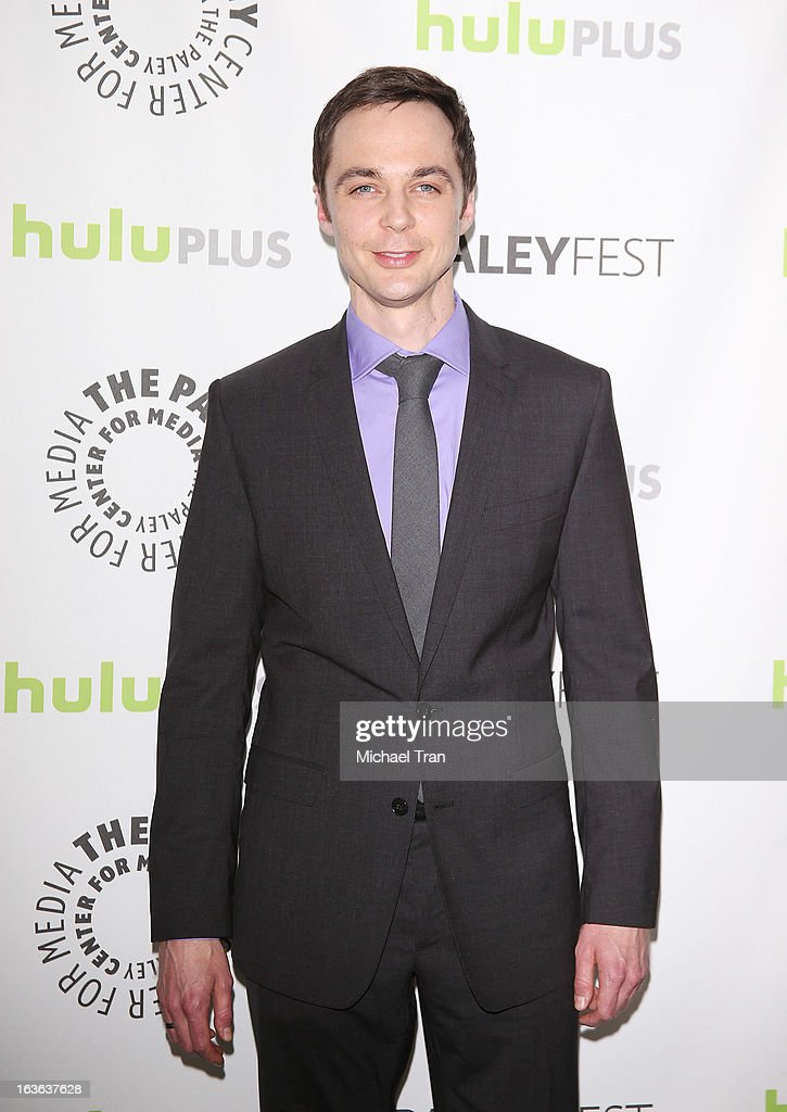 Jim Parsons arrives at the 30th Annual PaleyFest: The William S. Paley Television Festival - 'The Big Bang Theory' held at Saban Theatre on March 13, 2013 in Beverly Hills, California.