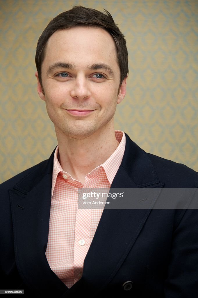 <a gi-track='captionPersonalityLinkClicked' href=/galleries/search?phrase=Jim+Parsons&family=editorial&specificpeople=2480791 ng-click='$event.stopPropagation()'>Jim Parsons</a> at 'The Big Bang Theory' Press Conference at the Four Seasons Hotel on October 30, 2013 in Beverly Hills.