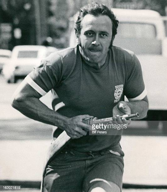 JUN 17 1972 AUG 14 1972 Jim Persichitte runs with the hose toward the ladder in first part of the wet test