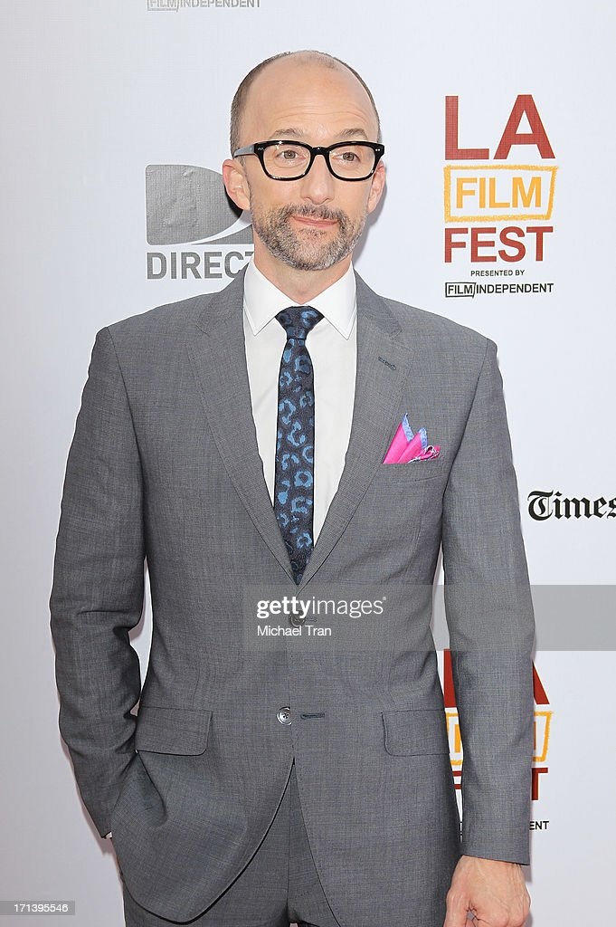 <a gi-track='captionPersonalityLinkClicked' href=/galleries/search?phrase=Jim+Rash&family=editorial&specificpeople=742689 ng-click='$event.stopPropagation()'>Jim Rash</a> arrives at the 2013 Los Angeles Film Festival 'The Way, Way Back' closing night gala held at Regal Cinemas L.A. LIVE Stadium 14 on June 23, 2013 in Los Angeles, California.