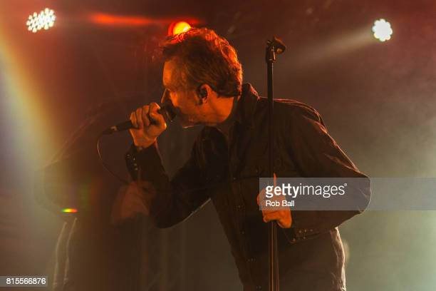 Jim Reid from The Jesus and Mary Chain performs at Latitude Festival at Henham Park Estate on July 16 2017 in Southwold England