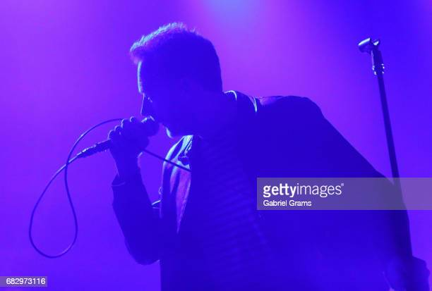 Jim Reid of The Jesus And Mary Chain performs at Vic Theatre on May 10 2017 in Chicago Illinois