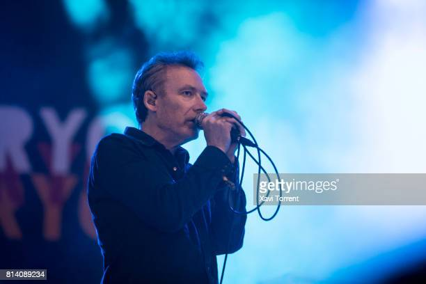 Jim Reid of The Jesus and Mary Chain performs in concert during day 1 of Festival Internacional de Benicassim on July 13 2017 in Benicassim Spain