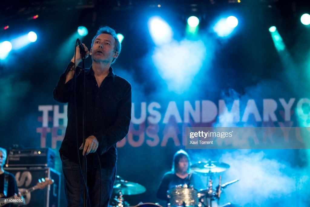 Jim Reid of The Jesus and Mary Chain performs in concert during day 1 of Festival Internacional de Benicassim (FIB) on July 13, 2017 in Benicassim, Spain.