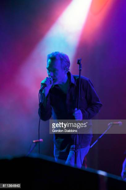 Jim Reid of The Jesus and Mary Chain performs live during day two of Exit Festival on July 6 2017 in Novi Sad Serbia