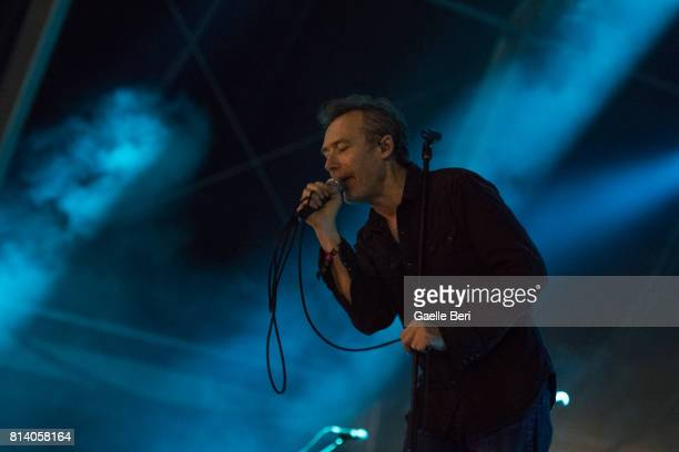 Jim Reid of The Jesus and Mary Chain performs live on Day 1 of FIB Festival on July 13 2017 in Benicassim Spain