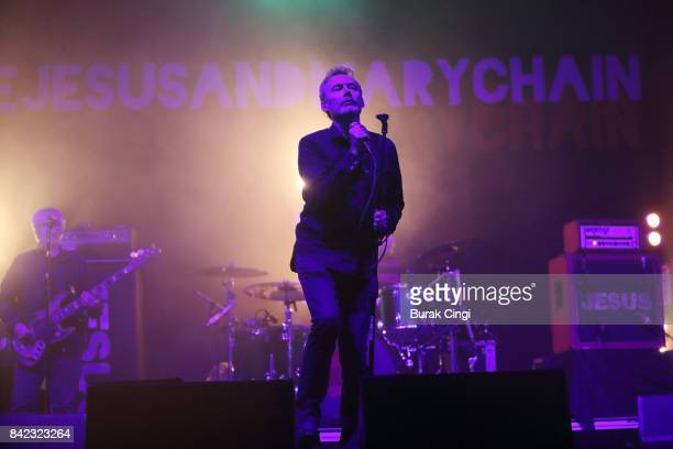 Jim Reid of The Jesus and Mary Chain performs on day 3 of End of the Road Festival at Larmer Tree Gardens on September 3 2017 in Farnham Dorset