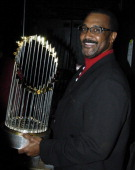 Jim Rice during Sports Illustrated Sportsman of the Year Party Honoring The Boston Red Sox at Avalon in Boston Massachusetts United States