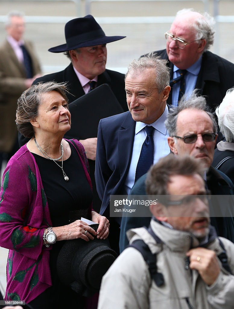 <a gi-track='captionPersonalityLinkClicked' href=/galleries/search?phrase=Jim+Rosenthal&family=editorial&specificpeople=1707616 ng-click='$event.stopPropagation()'>Jim Rosenthal</a> attends a memorial service to journalist and former president of the MCC, Christopher Martin-Jenkins MBE at St Paul's Cathedral on April 16, 2013 in London, England.