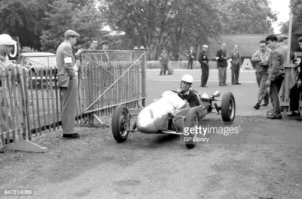 Jim Russell drives a 500cc f3 cooper 1955