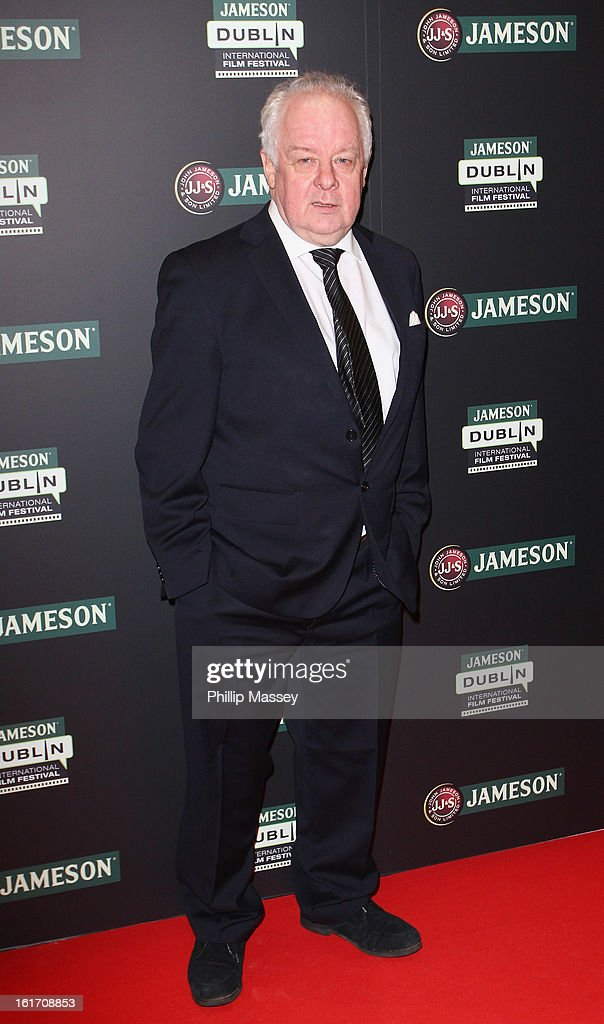 Jim Sheridan attends a Gala Screening of 'Broken' as part of the Jameson International Film Festival at Savoy Cinema on February 14, 2013 in Dublin, Ireland.