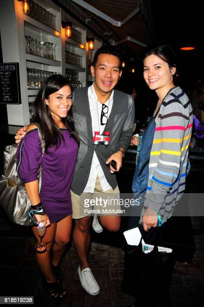 Jim Shi and attend The Target Kaleidoscopic Fashion Spectacular Lights up New York City at The Standard on August 18 2010 in New York City