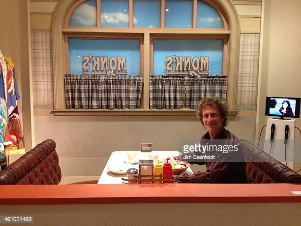 Jim Steinfeldt in the set of Seinfeld at the Museum of Television and Radio in Beverly Hills California on November 27 2013