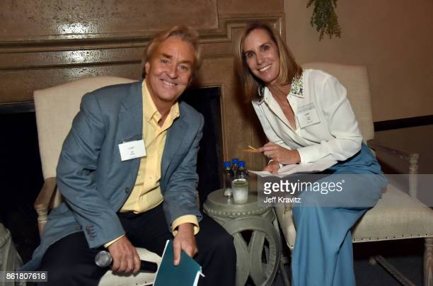 Jim Steyer and Tracy Sykes at an Evening With Thomas L Friedman and Common Sense Media on October 15 2017 at the Bel Air Bay Club in Pacific...