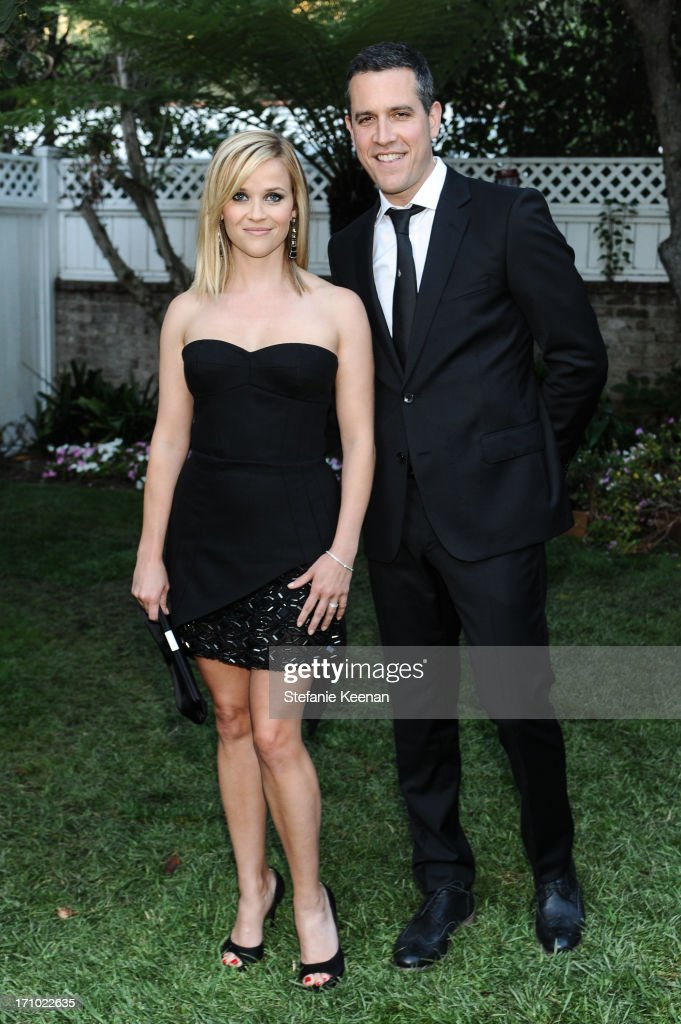 Jim Toth and Reese Witherspoon attend 2013 Los Angeles Dance Project Benefit Gala on June 20 2013 in Los Angeles California