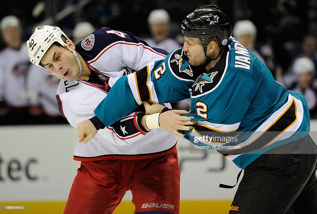 Columbus Blue Jackets v San Jose Sharks