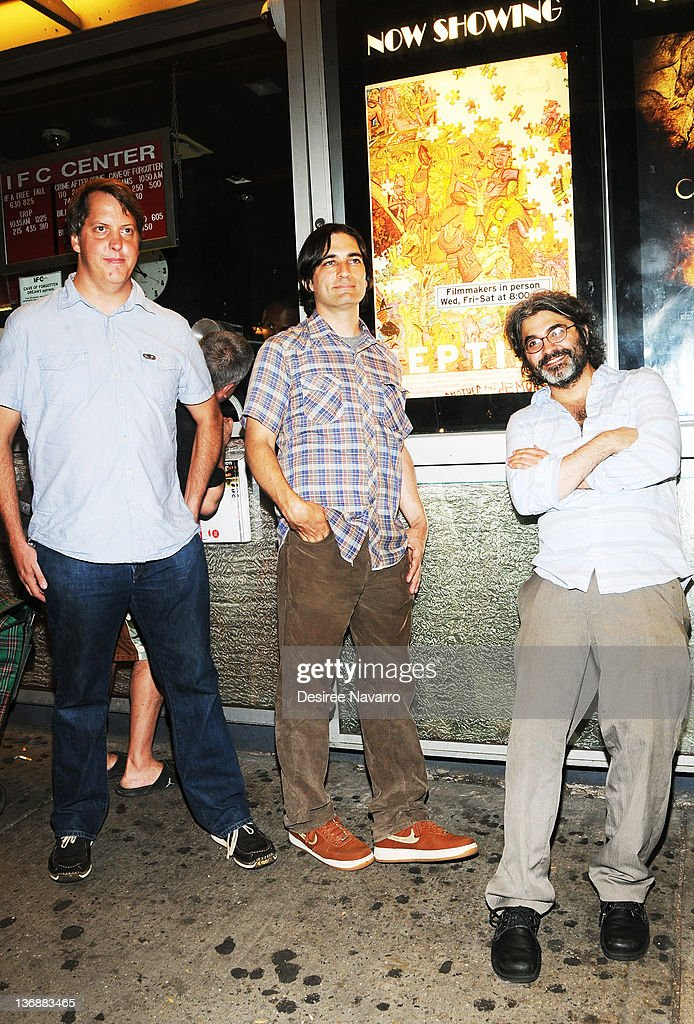 Jim Wellingham Director and writer Michael Tully and Artist Onur Tukel attend the 'Septien' premiere at the IFC Center on July 6 2011 in New York City