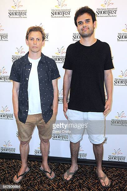 Jim Wright and Charlie Sarroff attend the 2016 Palm Springs International ShortFest Friday Screenings Events on June 24 2016 in Palm Springs...