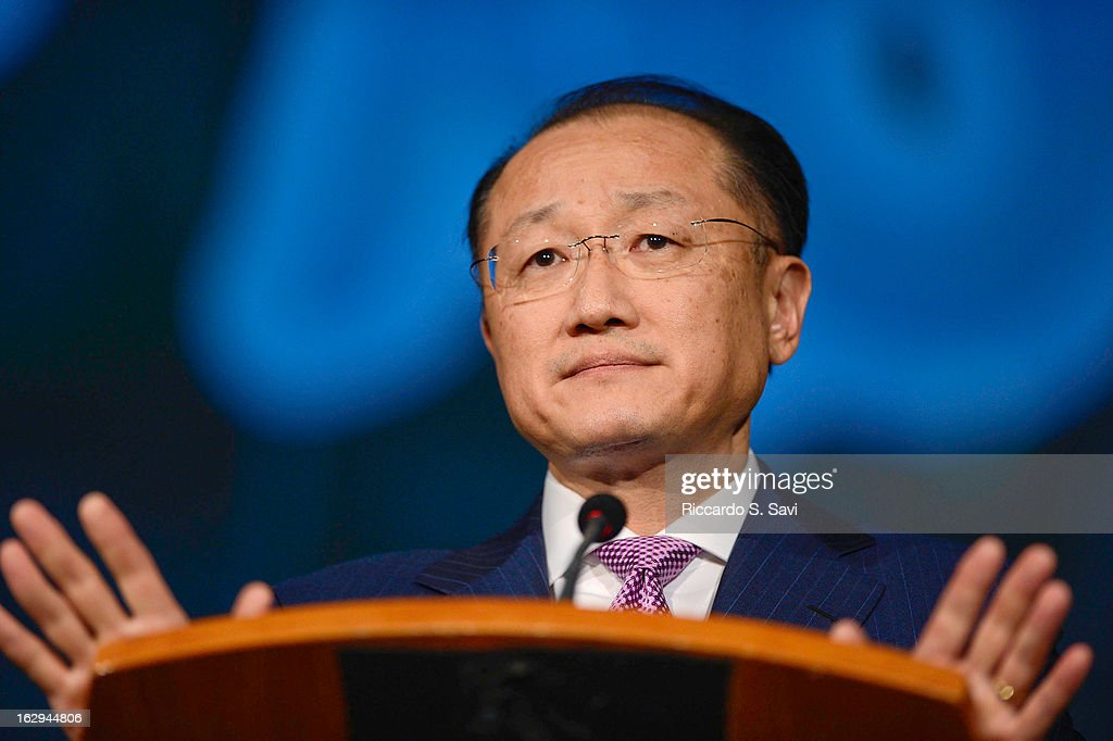 <a gi-track='captionPersonalityLinkClicked' href=/galleries/search?phrase=Jim+Yong+Kim&family=editorial&specificpeople=2302483 ng-click='$event.stopPropagation()'>Jim Yong Kim</a> President of the World Bank,speaks Connect4Climate: Right Here, Right Now at The World Bank on March 1, 2013 in Washington, DC.